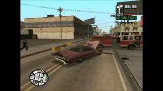 HIGHLIGHT REEL - GTA: San Andreas - Pedestrian riot playthrough