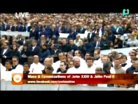 Canonization of Blessed Pope John XXIII and Blessed Pope John Paul II