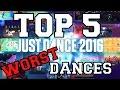 Top 5 Worst Dances on Just Dance 2016!