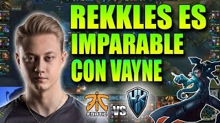 REKKLES CARRILEA con VAYNE en LCS !!   FNC vs H2K Resumen y Highlights