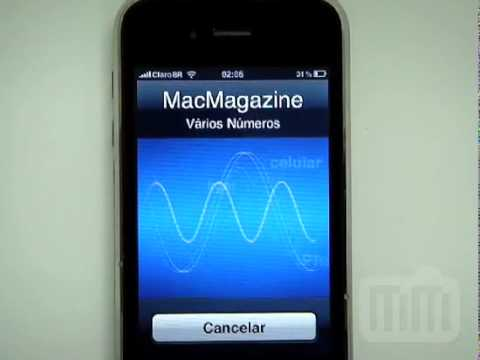 Experimentando o Voice Control no iPhone 3G S
