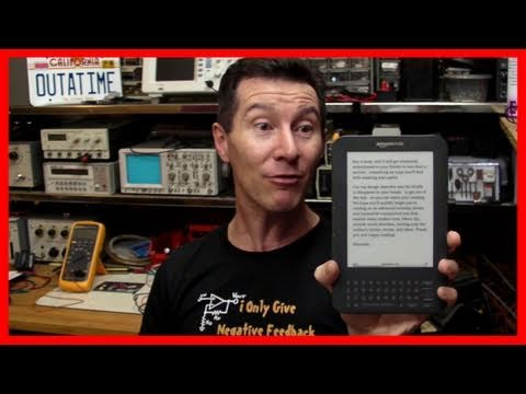 EEVblog #108 - Amazon Kindle 3 3G GSM/WiFi Review