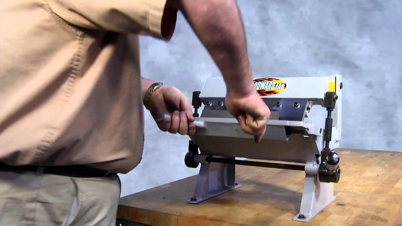 Box And Pan Brake Wfbp1220 Youtube