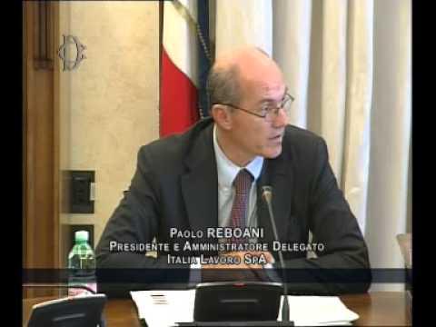 Roma - Audizione Italia Lavoro (05.08.14)