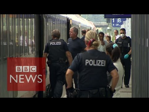 This is how Germany polices its borders - BBC News