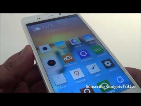 Gionee Elife E6 Hands