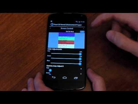 Nexus 4 - FauxClock - App Review - Kernel/Display tweaks - HD