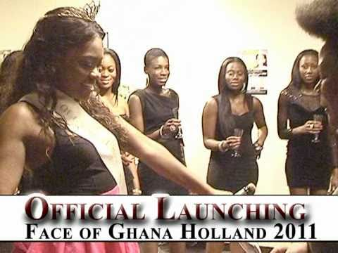 Official Launching of Face of Ghana Holland Beauty Pageant 2011