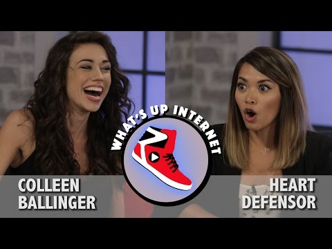 What's Up Internet! With Colleen Ballinger & Heart Defensor