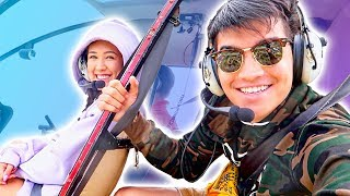 Couples First NO DOORS Helicopter Ride! (Hawaii)