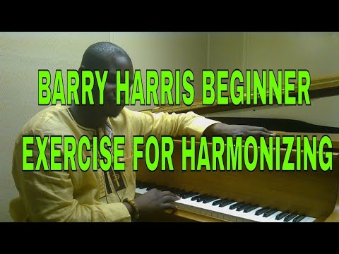 Beginner Barry Harris 6dim Chord Exercise - Jazz Piano Tutorial