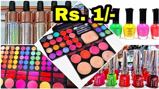 Cheapest Makeup Wholesale Market In Kolkata || Makeup Kit, Lipstick, Kajal || Cosmetics  Market