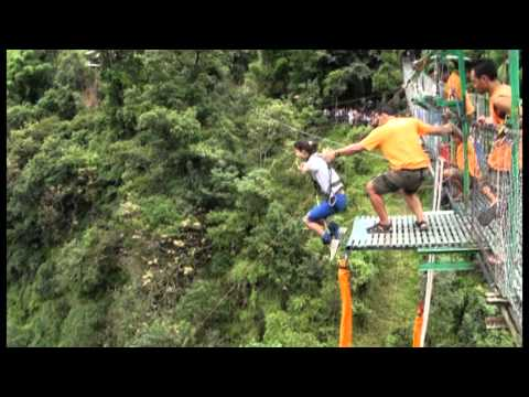 Isa Dhungana - Brave Nepali Little Girl - Bungee Jump video