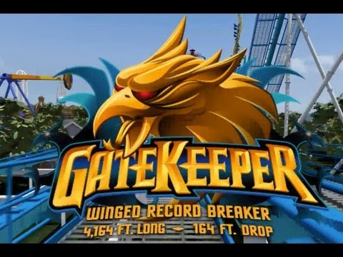 Cedar Point Gate Keeper POV 2013 Roller Coaster GateKeeper