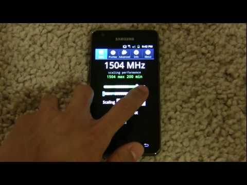 Samsung Galaxy S II Overclocked to 1.5GHz