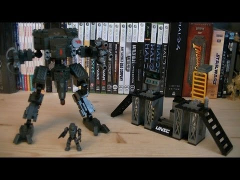 Halo Mega Bloks 97115 UNSC Mantis Review