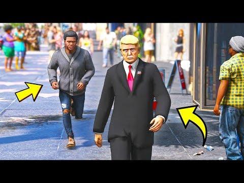 Download  What happens if you follow Mr President?! GTA 5 Mods Gameplay Gratis, download lagu terbaru