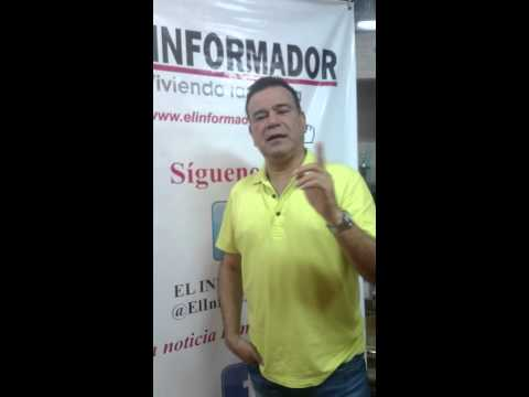 Saludo de @IVANVILLAZON a los lectores de EL INFORMADOR  #ElCaminoDeMiExistencia