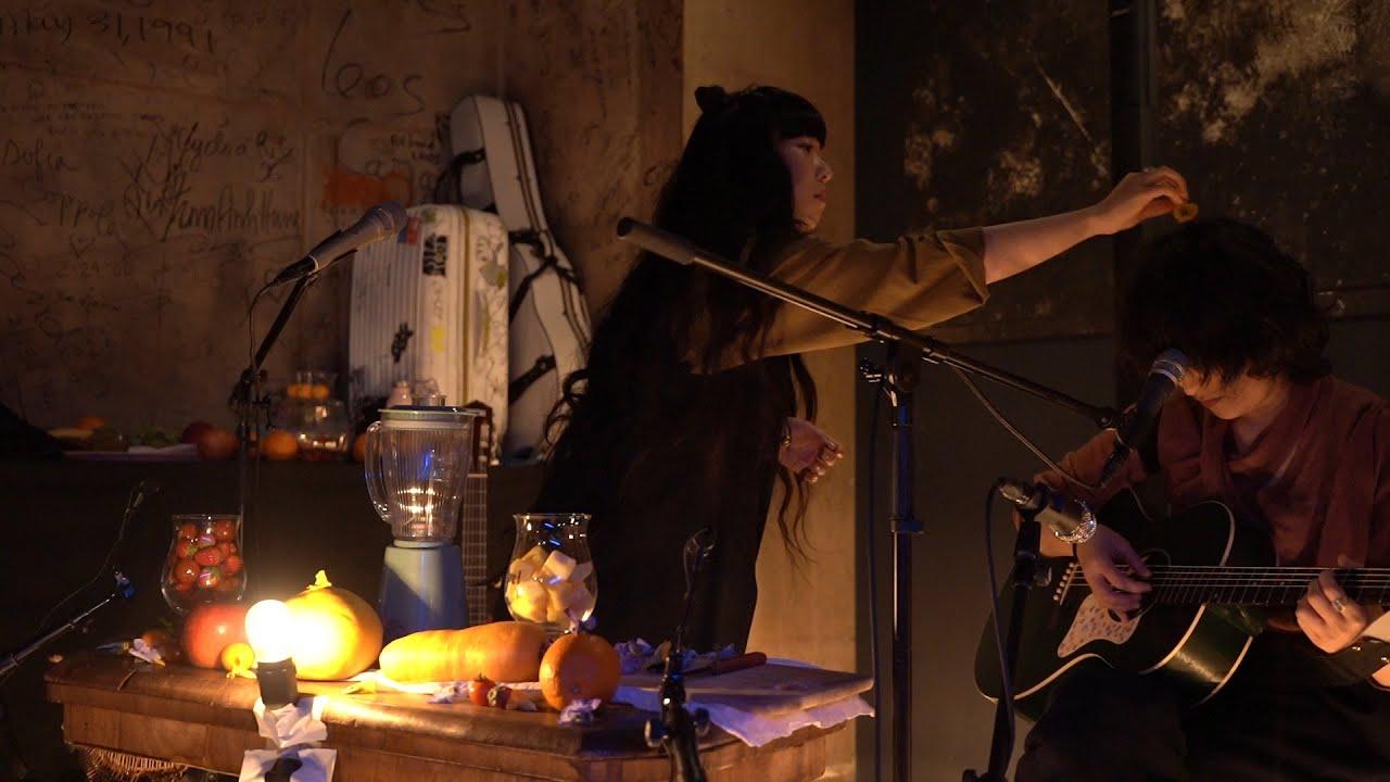 """青葉市子 VegetableSatellite 角銅真実 - 2019.03.16 渋谷WWW & WWWXにて行われた「Alternative Tokyo」から即興セッション""""BOYCOTT RHYTHM MACHINE VERSUS LIVE in Alternative Tokyo""""のライブ映像を公開 thm Music info Clip"""