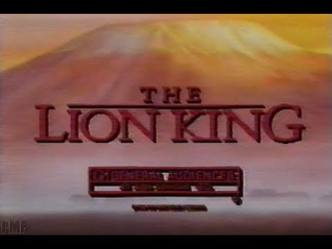 The Lion King (1994) Movie Trailer
