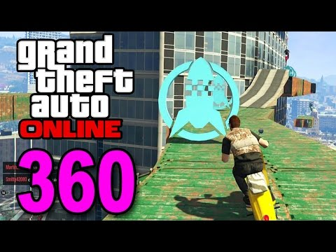 Grand Theft Auto 5 Multiplayer - Part 360 - Epic Faggio Race (GTA Online Gameplay)