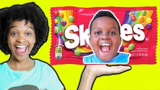 Shiloh TURNED INTO CANDY? - Shasha and Shiloh - Onyx Kids