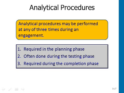 MBA 605 AUDITING Audit Planning Analytical Discussion Audio