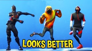 TOP 100 FORTNITE DANCES & EMOTES LOOKS BETTER WITH THESE SKINS.! (Fortnite Battle Royale)