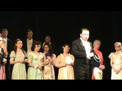 П И Чайковский опера   Евгений Онегин 2д 4карт 3 Ларинский бал,ссора
