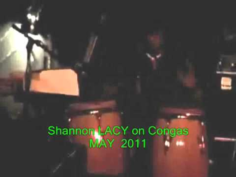 Shannon Lacy on Conga's w/ Harvey Mandel