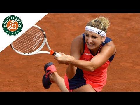 Venus Williams v Timea Bacsinszky Highlights - Women's Round 4 2017 I Roland-Garros