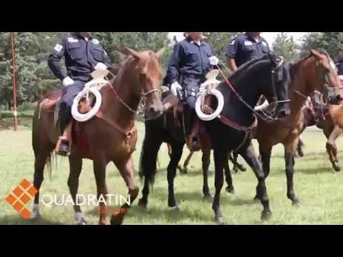 Concluye curso de capacitación de policía montada de Cuautitlán Izcalli