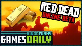 Rockstar Is Giving Away Gold Bars in Red Dead Online - Kinda Funny Games Daily 12.06.18