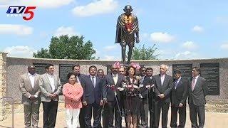 U.N. Ambassador Nikki Haley Visits Mahatma Gandhi Memorial Plaza in Irving, Texas | USA