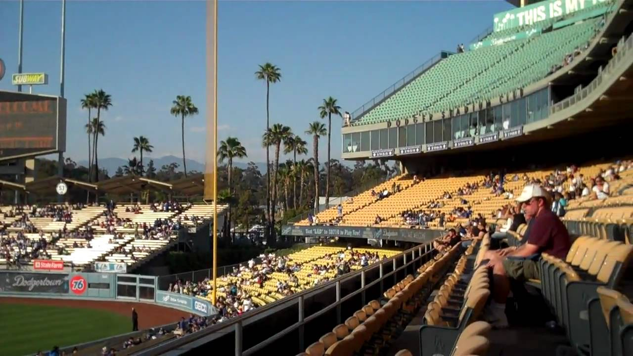 C Max 7 Seats >> Dodger Stadium, Loge, Section 142, Row C, Seats 1-2 - YouTube