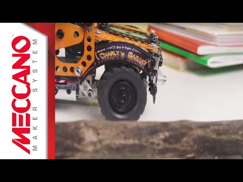 Meccano Evolution Tow Truck