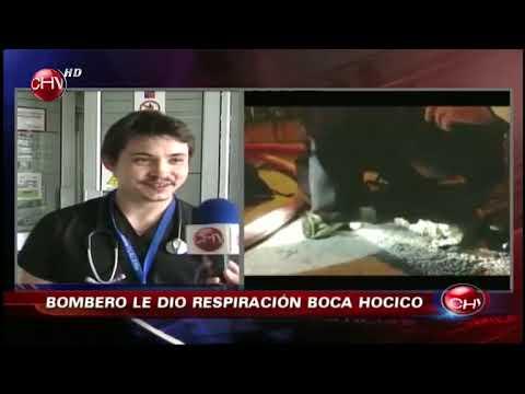 Bombero héroe salvó a perro con insólita reanimación