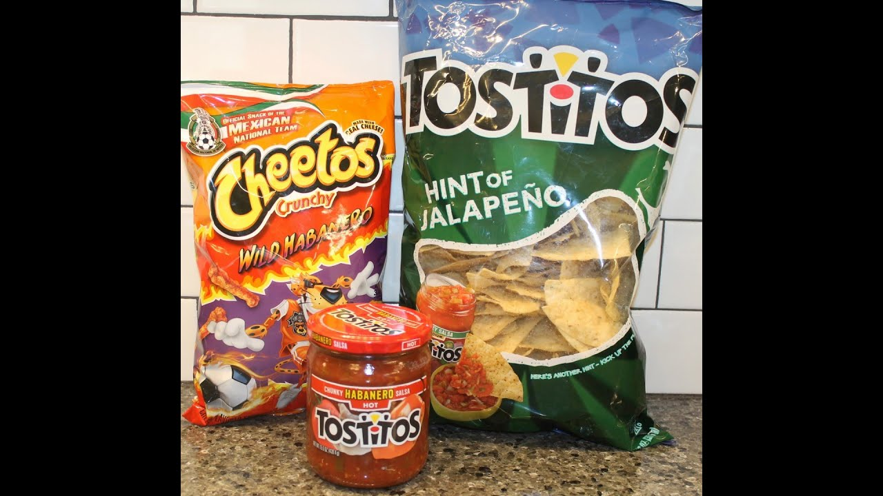 ... Tostitos Habanero Salsa & Tostitos Hint of Jalapeno Tortilla Chips