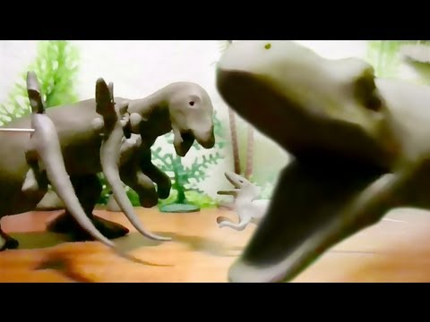 Fredz Jurassic Fight Club Claymation Style 2/2