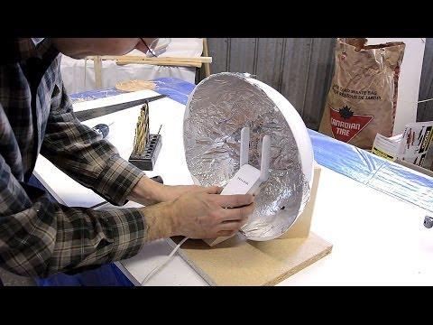 Wifi Antenna Booster Dish video