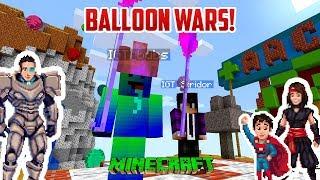 Minecraft: BALLOON BASH!