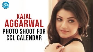 Kajal Aggarwal Photo Shoot For CCL Calendar | CCL Brand Ambassador