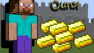 #Como achar ouro rápido no Minecraft