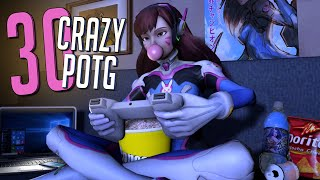 30 CRAZY PLAYS OF THE GAME #25 ►Overwatch Highlights Community Montage