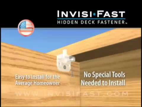 Invisifast Hidden Deck Fastener Affordable Way Of