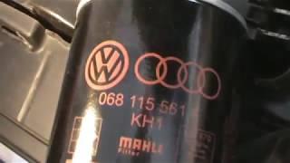 Audi A4 1.8t. Cambiar aceite de motor y filtro de aceite. Change engine oil and oil filter.