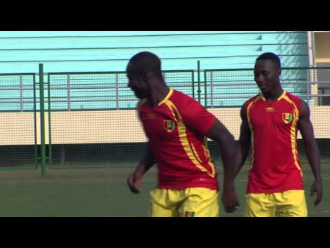 Guinea - Training session (27/01) - Orange Africa Cup of Nations, EQUATORIAL GUINEA 2015