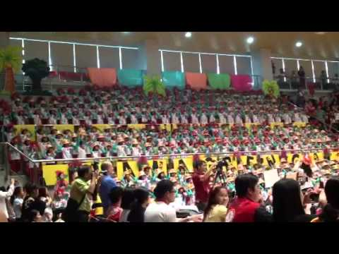 CSA makati - Grade 1 cheering competition 2012-2013