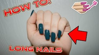 How To: Get LONG Nails?!