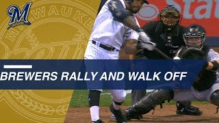 Eric Thames' walk-off homer STUNS Rockies